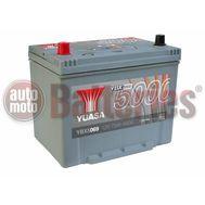 YUASA YBX5069 12V Capacity  75Ah  640A Yuasa Silver High Performance Battery