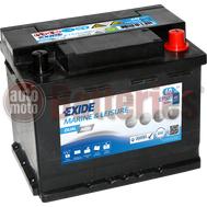 Μπαταρία EXIDE EP500 Marine & Leizure Dual AGM 12V 60Ah 680EN A Εκκίνησης