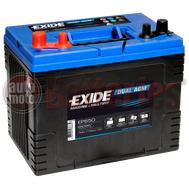 Μπαταρία EXIDE EP650 Marine & Leizure Dual AGM 12V 75Ah 775EN A Εκκίνησης