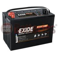 Μπαταρία EXIDE EM1100 Marine & Leizure Start AGM 12V  100Ah 925EN A Εκκίνησης