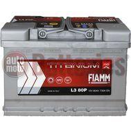 Μπαταρία Αυτοκινήτου  Fiamm Titanium Pro  L3B 75 12V  75Ah  730EN A Εκκίνησης