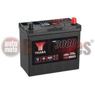 YUASA YBX3053 12V Capacity  45Ah  400A Yuasa SMF Battery