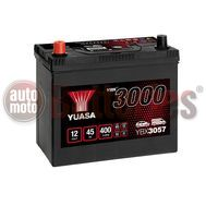 YUASA YBX3057 12V Capacity  45Ah  400A Yuasa SMF Battery