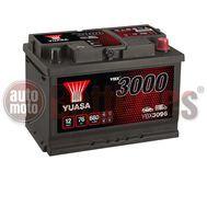 YUASA YBX3096 12V Capacity  76Ah  680A Yuasa SMF Battery
