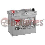 YUASA YBX5057 12V Capacity 50Ah 450A Yuasa Silver High Performance Battery