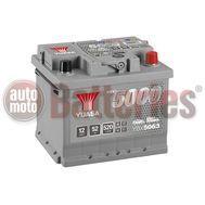 YUASA YBX5063 12V Capacity  52Ah 520A Yuasa Silver High Performance Battery