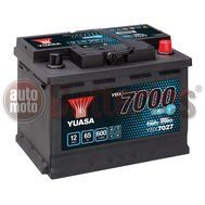 YUASA YBX7027 12V Capacity 65Ah 600A Yuasa EFB Start Stop Battery