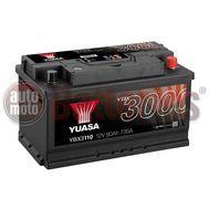 YUASA YBX3110 12V Capacity  80Ah  720A Yuasa SMF Battery