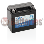 Exide YTX14-BS AGM 12-12 Ready  Motorbike & Sport Battery