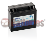 Exide YTX20L-BS AGM 12-18 Ready  Motorbike & Sport Battery