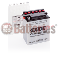 Exide YB14-A2  Conventional  Motorbike & Sport Battery EB14-A2