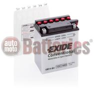 Exide YB14-B2  Conventional  Motorbike & Sport Battery EB14-B2