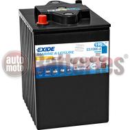Μπαταρία Exide Gel ES1000-6 Marine & Leisure Wh1000  6V Capacity 20hr  195(Ah):EN (Amps): 900EN Εκκίνησης