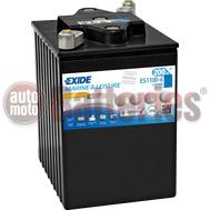 Μπαταρία Exide Gel ES1100-6 Marine & Leisure Wh1100  6V Capacity 20hr  200(Ah):EN (Amps): 950EN Εκκίνησης