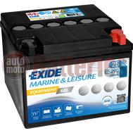 Μπαταρία Exide Gel ES290 Marine & Leisure Wh290 12V Capacity 20hr  25(Ah):EN (Amps): 240 EN Εκκίνησης
