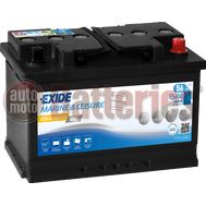 Μπαταρία Exide Gel ES650 Marine & Leisure Wh650 12V Capacity 20hr  56(Ah):EN (Amps): 460 EN Εκκίνησης