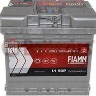 Μπαταρία Αυτοκινήτου  Fiamm Titanium Pro  L1 50 12V  50Ah  460EN A Εκκίνησης