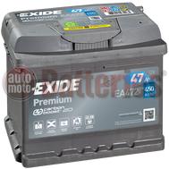 Μπαταρία Αυτοκινήτου Exide Premium EA472 12V 47AH 450EN A Εκκίνησης