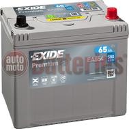 Μπαταρία Αυτοκινήτου Exide Premium EA654 12V 65AH  580EN A Εκκίνησης