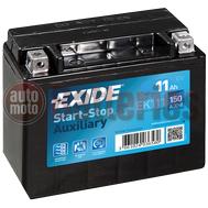 Μπαταρία Exide EK111 Auxiliary AGM Start Stop 12V  11Ah 150A EN