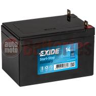 Μπαταρία Exide EK143 Auxiliary AGM Start Stop 12V  14Ah 80A EN