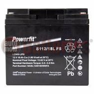 GNB Industrial Power By Exide Technologies 12v Powerfit S112/18L F5 18Ah VRLA  Long Life