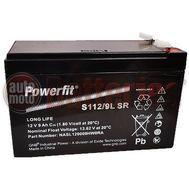 GNB Industrial Power By Exide Technologies 12v Powerfit S112/9L SR  9Ah VRLA  Long Life