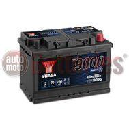 Yuasa YBX9096 12V Capacity 70Ah 760A EN Yuasa AGM Start Stop Plus Battery