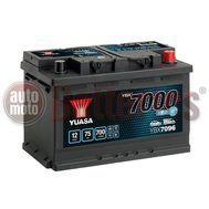 YUASA YBX7096 12V Capacity 75Ah 700A Yuasa EFB Start Stop Battery