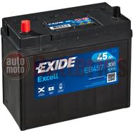 Μπαταρία Αυτοκινήτου Exide Excell EB457 12V 45AH  330EN A-Εκκίνησης