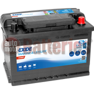 Μπαταρία Σκάφους Exide Batteries EN750  74Ah  680A EN  Marine Leisure Start
