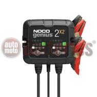 Φορτιστής συντήρησης μπαταριών NOCO GENIUS2X2EU 2 θέσεων φόρτισης 4Α (2Α ανά θέση φόρτισης)