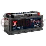 Yuasa YBX9020 12V Capacity 105Ah 950A EN Yuasa AGM Start Stop Plus Battery