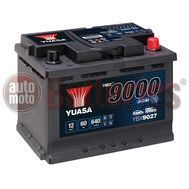 Yuasa YBX9027 12V Capacity 60Ah 640A EN Yuasa AGM Start Stop Plus Battery