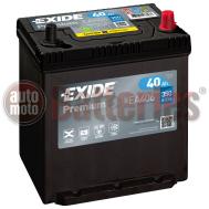 Μπαταρία Αυτοκινήτου Exide Premium EA406 12V 40AH-350EN A  Εκκίνησης