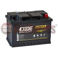 Exide Techologies Battery Equipment GEL  ES900  12V 80AH  Marine Professional Dual Purpose (GEL G80)