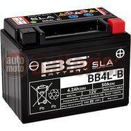 Μπαταρία Μοτοσυκλέτας BS-BATTERY BB4L-B SLA 4.2AH 50EN Αντιστοιχία YB4L-B