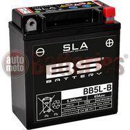 Μπαταρία Μοτοσυκλέτας BS-BATTERY BB5L-B SLA 5.3AH 65EN Αντιστοιχία YB5L-B