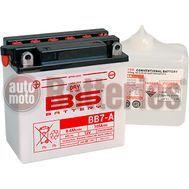 Μπαταρία Μοτοσυκλέτας BS-BATTERY  BB7-A DRY 8.4AH 105EN Αντιστοιχία YB7-A