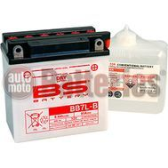 Μπαταρία Μοτοσυκλέτας BS-BATTERY  BB7L-B DRY 8.4AH 85EN Αντιστοιχία YB7L-B