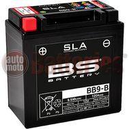 Μπαταρία Μοτοσυκλέτας BS-BATTERY  BB9-B  SLA 9.5AH 120EN Αντιστοιχία  YB9-B