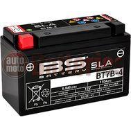 Μπαταρία Μοτοσυκλέτας BS-BATTERY BT7B-4 SLA 6.8AH 110EN Αντιστοιχία YT7B-BS-GT7B-4