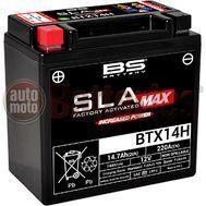 Μπαταρία Μοτοσυκλέτας BS-BATTERY BTX14H SLA Max 14.7AH  220EN Αντιστοιχία  YTX14H-BS