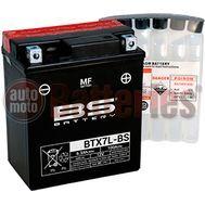 Μπαταρία Μοτοσυκλέτας BS-BATTERY  BTX7L-BS  MF 6.3AH 100EN Αντιστοιχία YTX7L-BS