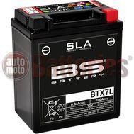 Μπαταρία Μοτοσυκλέτας BS-BATTERY BTX7L  SLA 6.3AH 100EN Αντιστοιχία YTX7L-BS