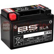 Μπαταρία Μοτοσυκλέτας BS-BATTERY BTX9 SLA 8.4AH 135 EN Αντιστοιχία YTX9-BS