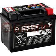 Μπαταρία Μοτοσυκλέτας BS-BATTERY BTZ5S  SLA  4.2AH 65EN Αντιστοιχία YTZ5S