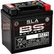 Μπαταρία Μοτοσυκλέτας BS-BATTERY BTZ7S  SLA  6.3AH 130EN Αντιστοιχία YTZ7S