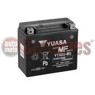 Μπαταρία Μοτοσυκλέτας Yuasa YTX20-BS 12V 18.9AH 270CCA