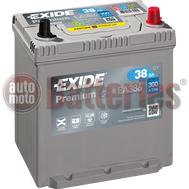 Μπαταρία Αυτοκινήτου Exide Premium EA386 12V 38AH-300EN A-Εκκίνησης
